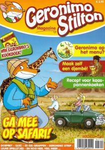tijdschriften_wereld Geronimo Stilton