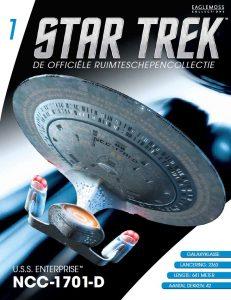 tijdschriften_wereld Star Trek ruimteschepen collectie