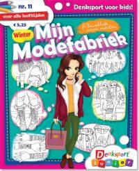 Kleurblok voor meiden: mode - editie 11