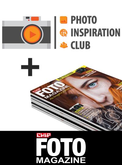 CHIP FOTO magazine abonnement met Photo Inspiration Club