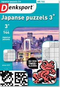 Japanse puzzels 3* - editie 144