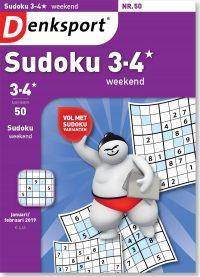 Sudoku 3-4* weekend - editie 50