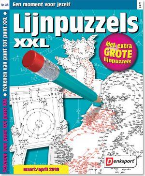 Lijnpuzzels XXL - editie 38