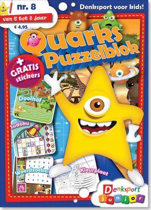 Quarks puzzelblok - editie 8