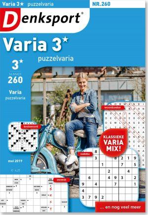 Varia 3* puzzelvaria - editie 260