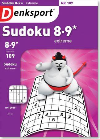 Sudoku 8-9* extreme - editie 109