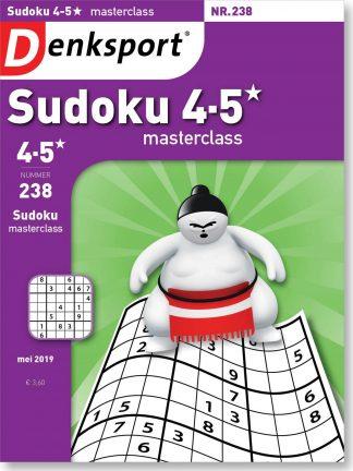Sudoku 4-5* masterclass - editie 238