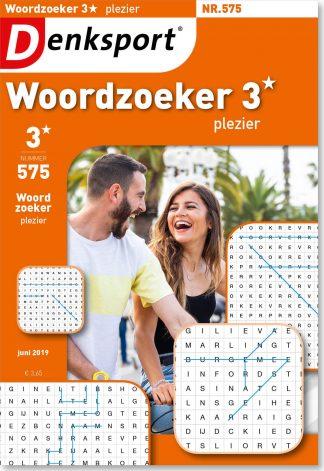 Woordzoeker 3* plezier - editie 575