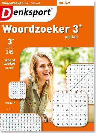 Woordzoeker 3* pocket - editie 249