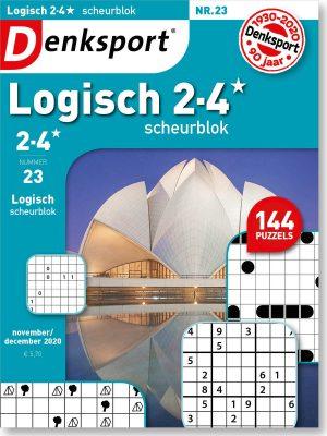Logisch 2-4* scheurblok - editie 23