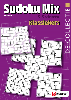 De Collectie - Sudoku mix 3-5* - Editie 15